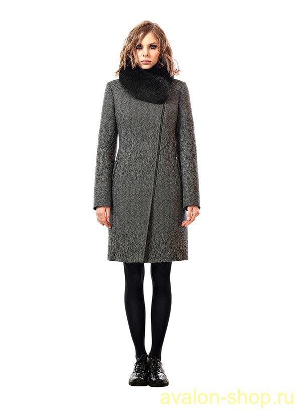 Молодежное зимнее пальто женское купить